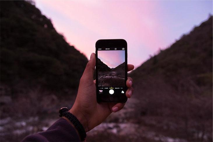 evolution of a landscape photographer iphone