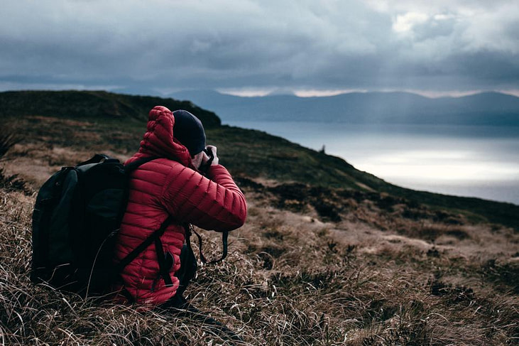 volution of a landscape photographer composition
