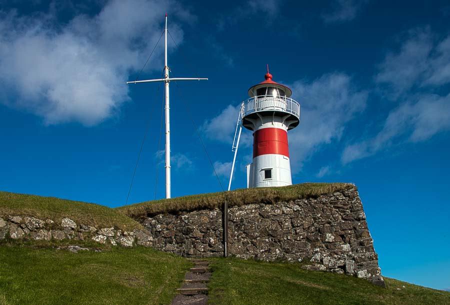 lighthouse torshavn faroe islands
