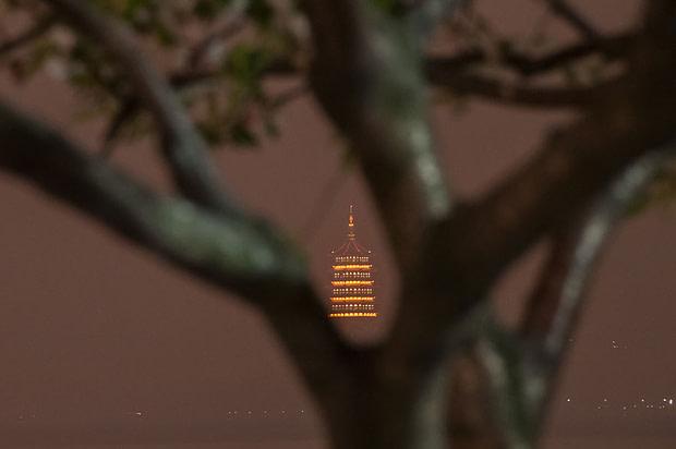 lei feng temple hangzhou china