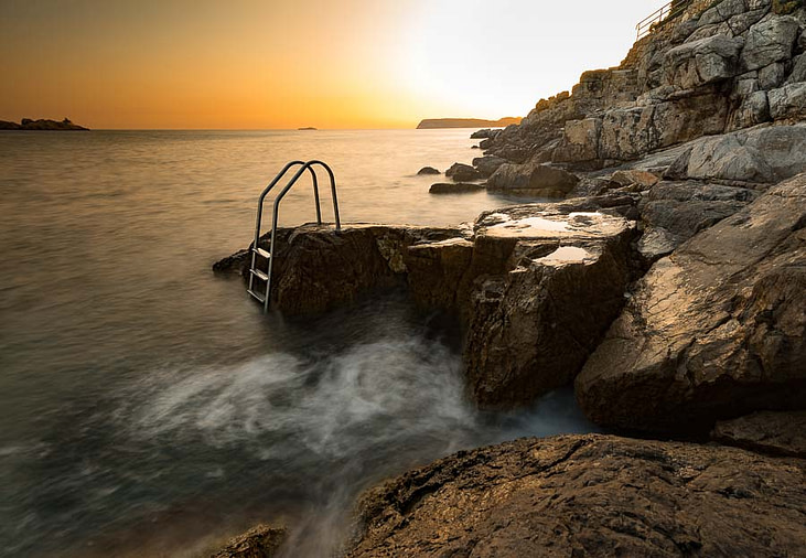 sunset dubrovnik croatia