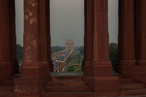 gate of india new delhi